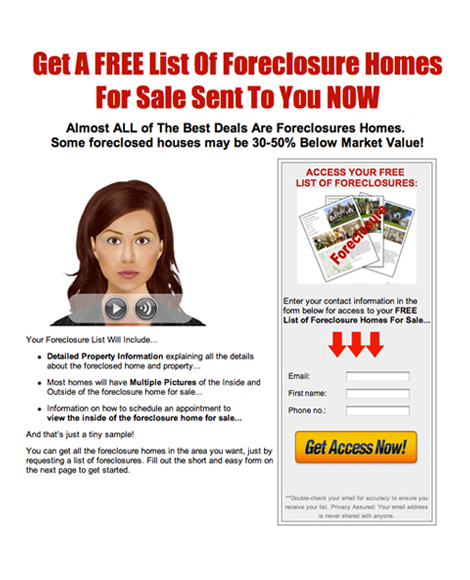 Free List Of Foreclosures For Sale